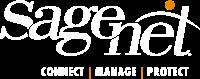 Sagenet Logo White
